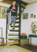 Loft Centre Charlotte Space Saving Spiral Stair Kit